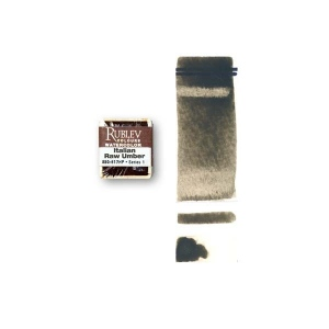 Natural Pigments Italian Natural Pigments Italian Green Umber (Half Pan) - Color: Brown