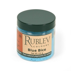 Natural Pigments Blue Bice 100 g - Color: Blue
