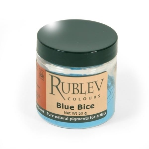 Natural Pigments Blue Bice 50 g - Color: Blue