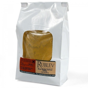 Rublev Colours Blue Ridge Yellow Ocher 500 g - Color: Yellow