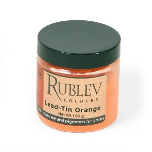 Natural Pigments Lead-Tin Orange Pigment/Color