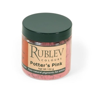 Natural Pigments Potters Pink 100 g - Color: Pink