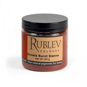 Natural Pigments Nicosia Burnt Sienna 100 g - Color: Brown