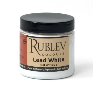 Natural Pigments Lead White 4 oz vol