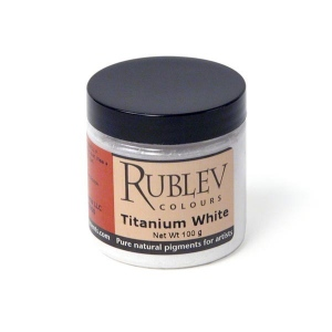 Rublev Colours Titanium Dioxide Pigment/Color White