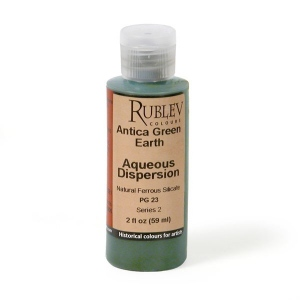 Rublev Colours Antica (Prun) Green Earth Pigment/Color