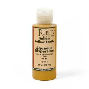 Natural Pigments Italian Yellow Earth 2 fl oz - Color: Yellow