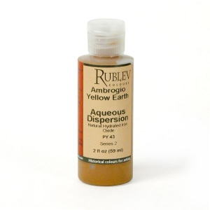 Rublev Colours Ambrogio Yellow Earth 2 fl oz - Color: Yellow