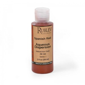Natural Pigments Spanish Red 2 fl oz - Color: Red