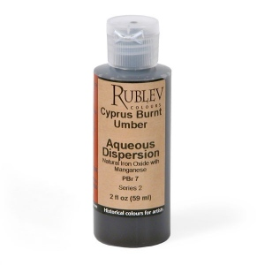 Natural Pigments Cyprus Burnt Umber 2 fl oz - Color: Brown