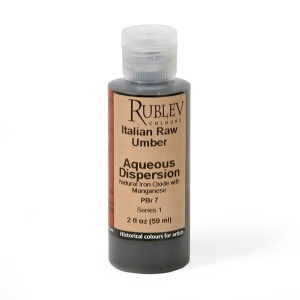 Rublev Colours Italian Raw Umber 2 fl oz - Color: Brown