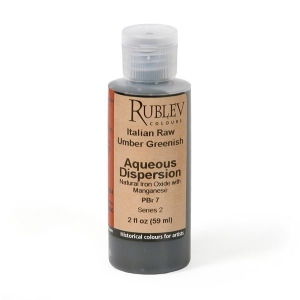 Natural Pigments Italian Green Raw Umber 2 fl oz - Color: Brown
