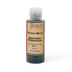 Natural Pigments Roman Black 2 fl oz - Color: Black