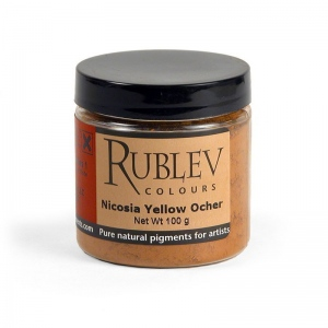 Rublev Colours Nicosia Yellow Ocher Pigment/Color Yellow