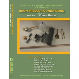 Natural Pigments Buon Fresco Foundations DVD Vol. 1