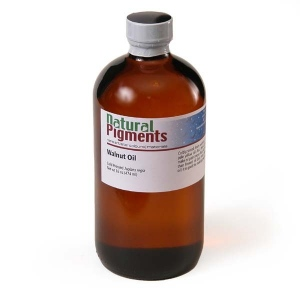 Natural Pigments Walnut Oil 16 fl oz - Source: Juglans regia
