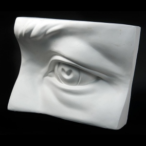 Natural Pigments Drawing Plaster Cast Eye (Giant)