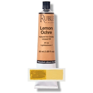 Natural Pigments Lemon Ocher 130 ml
