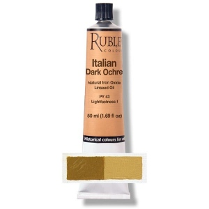 Natural Pigments Italian Dark Ocher 130 ml