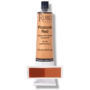 Natural Pigments Pozzuoli Red 130 ml
