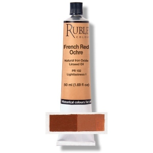Natural Pigments French Red Ocher 130 ml