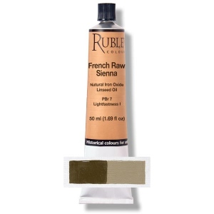 Natural Pigments French Raw Sienna 130 ml - Color: Brown