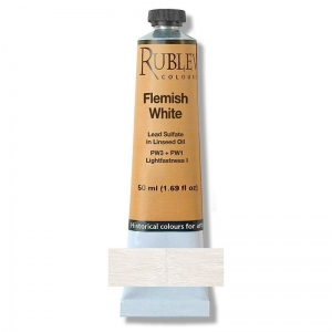 Flemish White Oil Paint