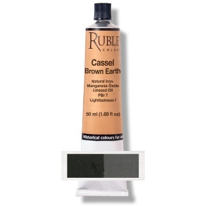 Natural Pigments Cassel Earth 130 ml