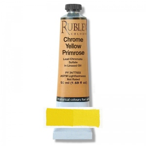 Natural Pigments Chrome Yellow Medium 50 ml