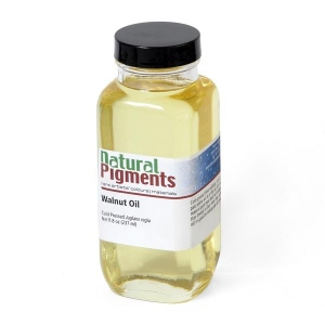 Natural Pigments Sun-Thickened Walnut Oil 16 fl oz - Source: Juglans regia