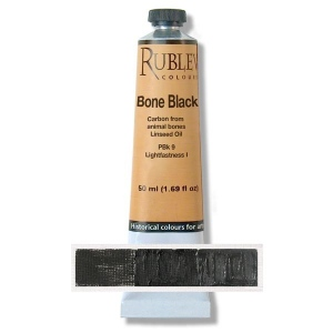 Natural Pigments Blue Black 50 ml - Color: Black