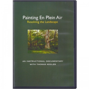 Natural Pigments Painting en Plein Air: Resolving the Landscape
