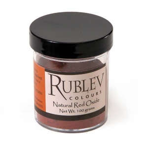 Natural Pigments Apt Red Oxide 100 g