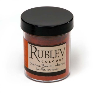 Rublev Colours Ardennes Burnt Sienna 100 g - Color: Brown