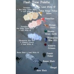 Natural Pigments David Gluck Basic Palette