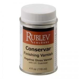 Natural Pigments Conservar Finishing Varnish Gloss 4 fl oz