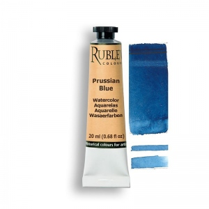 Natural Pigments Prussian Blue 15ml - Color: Blue