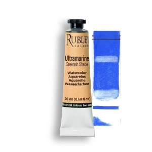 Natural Pigments Ultramarine Blue (Greenish Shade) 15ml - Color: Blue