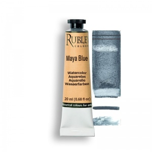 Natural Pigments Maya Blue 15ml - Color: Blue