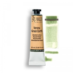 Natural Pigments Verona Green Earth 15ml - Color: Green