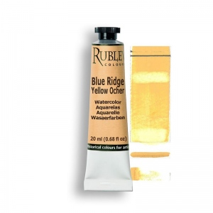 Natural Pigments Blue Ridge Yellow Ocher 15ml - Color: Yellow