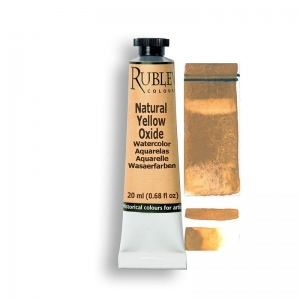 Natural Pigments Natural Yellow Oxide 15ml - Color: Yellow