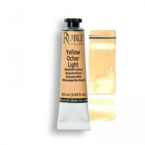Natural Pigments Yellow Ocher Light 15ml