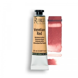 Natural Pigments Venetian Red 15ml - Color: Red