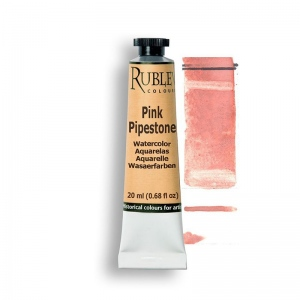 Rublev Colours Pink Pipestone 15ml - Color: Pink