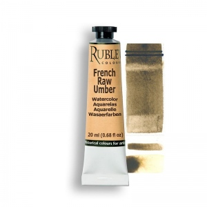 Rublev Colours French Raw Umber 15ml - Color: Brown