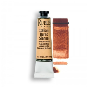 Italian Burnt Sienna Watercolor Paint