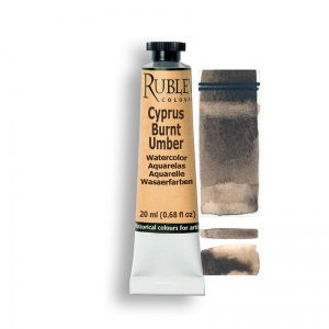 Natural Pigments Cyprus Burnt Umber 15ml - Color: Brown