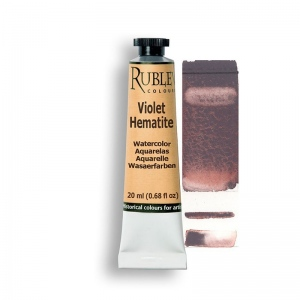 Natural Pigments Violet Hematite 15ml - Color: Purplish Red