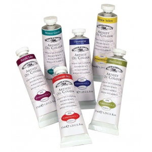 Winsor & Newton™ Artists' Oil Color 37ml Cadmium Yellow Pale: Yellow, Tube, 37 ml, Oil, (model 1214118), price per tube